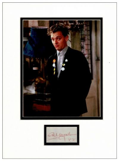 Rik Mayall Autograph Signed - The Young Ones